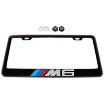 Amazon Com Bmw M6 Black License Plate Frame W Screw