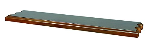 RAM Gameroom Products Wooden Wall Shelf, Cappuccino Finish