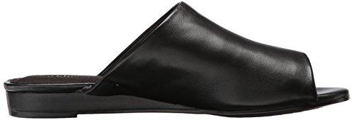 Sandali Da Scivolo Per Donna Bitmap Aerosol In Pelle Nera