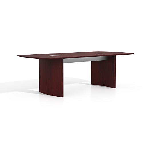 Safco Products MNC8LMH Medina Table, 8', Mahogany
