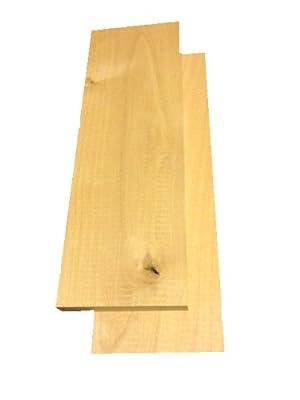 "Knotty Alder Lumber 3/4""x4""x12"""