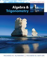 Bundle: Algebra and Trigonometry, 8th + Enhanced Webassign Single-term LOE Printed Access Card for Pre-calculus and Coll