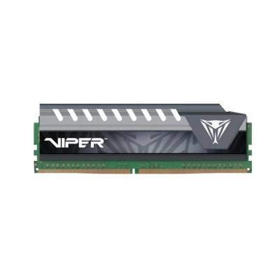 Patriot Memory Viper Elite Series DDR4 8GB 2133MHz (PC4-17000) Single Module (Black/Grey) - PVE48G213C4GY
