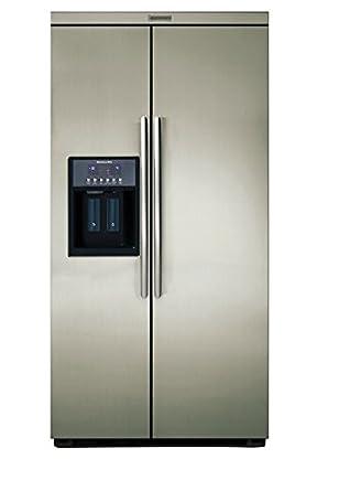 KitchenAid KRSC 9065 Integrado A+ Acero inoxidable nevera puerta ...
