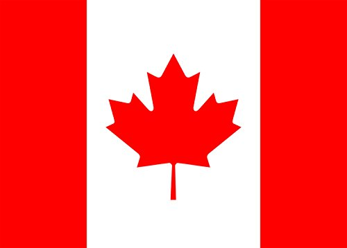 CANADA - World Country National Flag - Rectangle Refrigerator Magnet