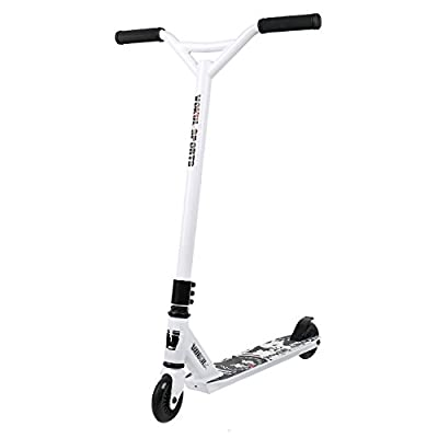 Vokul Kids Entry Level Freestyle Pro Stunt Scooter with Durable Frame -Reinforced Deck and 100mm Wheels - Beginner Rider Choice,Great Gift by Vokul