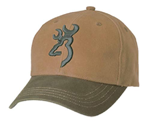 (Browning Repel-Tex Cap, Acorn/Olive, Semi-Fitted)