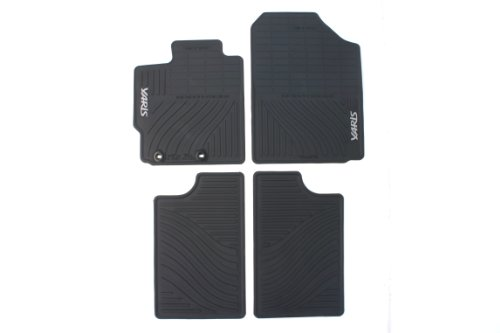 - Genuine Toyota Accessories PT908-52122-20 Front and Rear All-Weather Floor Mat (Black), Set of 4