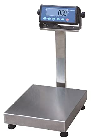 MEASURETEK 12R964 Digital Benchtop Scale, 60kg/150lb