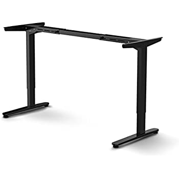 FlexiSpot Sit Stand Desk Frame Electric Height Adjustable Home Office Desk  Base