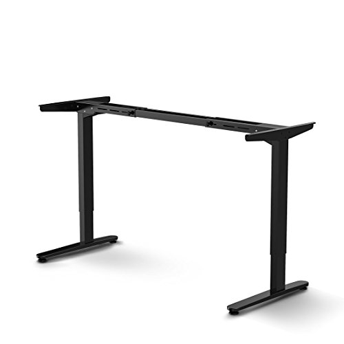 FlexiSpot Sit Stand Desk Frame Electric Height Adjustable Home Office Desk Base by FLEXISPOT