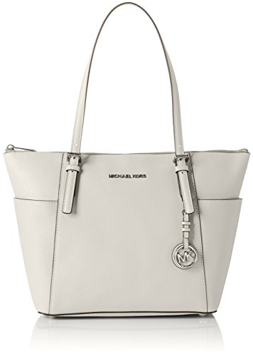 MICHAEL Michael Kors Jet Set Top-Zip Tote - Cement