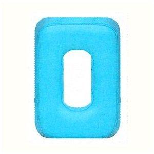 (メディカルブック) (レザー色は18色) 有孔ピロー(幅22×奥行33×高さ6cm有孔の長さ19cm)【SB-470】 (白) B00714QYUI 白 白