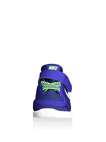 Nike Unisex Baby Free 5 (TDV) Sneaker blau/limette