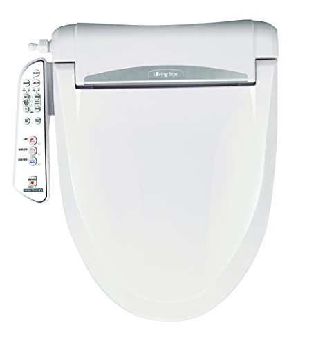 Dryer Infused (LivngStar 5300 Elongated. Brings you with cozy and fresh bidet experiences via Micro-air infused warm water with multi-adjustable controls: water, seat, temp & various washing modes)