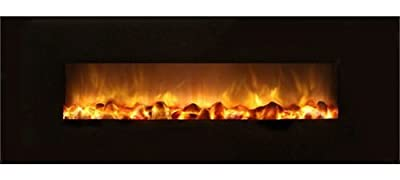 """Modern Flame SF40-BILV Slim-Fire 40"""" Electric Recessed / Wall Mounted Fireplace"""