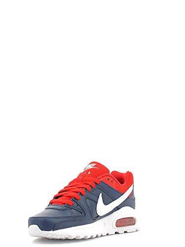 Nike Air Max Command Flex Ltr Gs, Zapatillas de Running Niños Azul (Azul (midnight navy/white-university red))