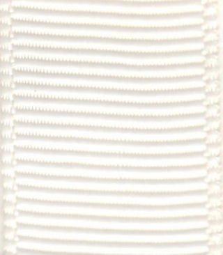(Papilion R07420223002820YD .88 in. Grosgrain Ribbon 20 Yards - Antique White)