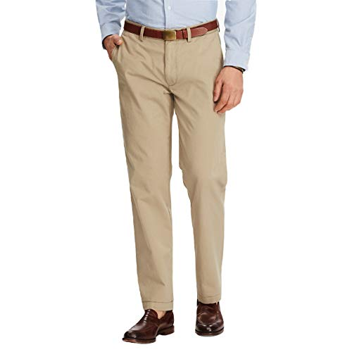 Polo Ralph Lauren Men's Classic Fit Chino Pants (Hudson Tan, 34W x - Pants Chino Ralph Lauren