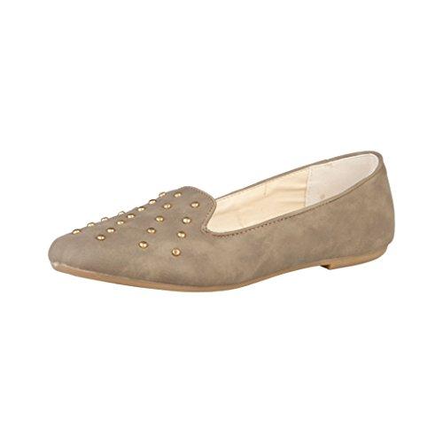 Sandales de ballerine sEGUE espadrilles mocassins beige gr. 38 neu