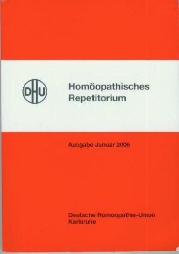 Homöopathisches Repetitorium. Arzneimittellehre für die tägliche Praxis
