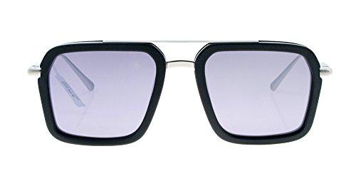 lunettes de soleil mesdames les étoiles de nouvelles nuances de lunettes de soleil élégant de personnalités les visages coréenneboîte noire white mercure (tissu) IVfOS4