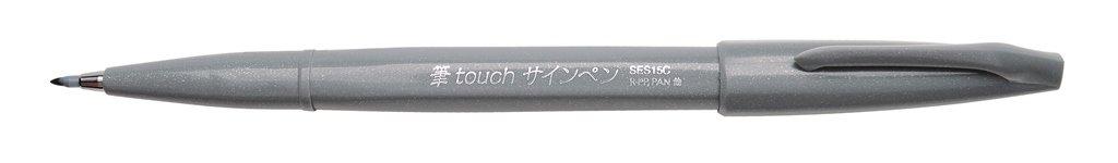 Pentel penna con punta a pennello pink