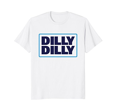 Mens Bud Light Official Dilly Dilly T Shirt Large White