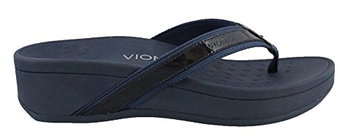 Sandal High Tide Navy Support Arch Thong Women's Wedge Vionic Navy CqxP00
