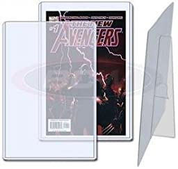 (5) Current / Silver Age Comic Book Topload Holder with Stand - BCW
