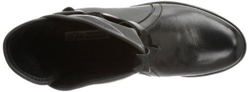 Buffalo London ES 30238 GARDA SUEDE - Botas biker, color: Negro (Schwarz) negro - Schwarz (PRETO 01)