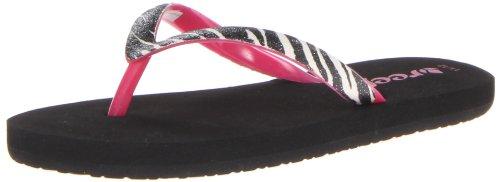 Reef Little Stargazer Luxe Sandal (Toddler/Little Kid/Big Kid),Zebra/Hot Pink,7/8  US (Luxe Zebra)