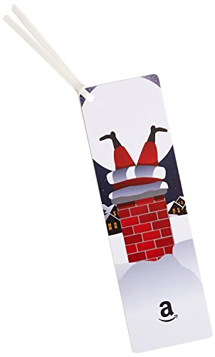 (Amazon.com $50 Gift Card as a Bookmark (Santa Design))