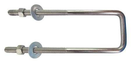 U-Bolt, Steel, (Pack of 10) by FABORY