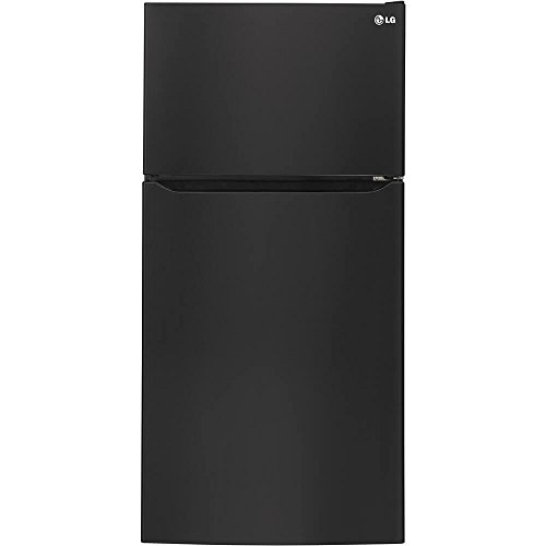 LG LTCS24223B 23.8 Cu. Ft. Black Top Freezer Refrigerator - Energy Star by LG