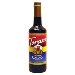 Torani Creme De Cacao Syrup, 750 mL Creme Cocoa Drinks