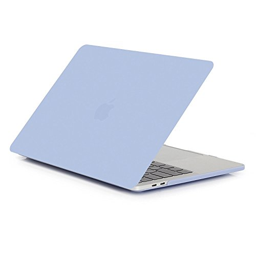 CaseBuy for MacBook Pro 13 Case A2159 A1706 A1708 A1989 2019-2016 Release, Ultra Slim Plastic Hard Case for Newest MacBook Pro 13 Inch with/Without Touch Bar, Airy Blue