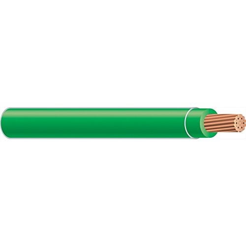 Building Wire, THHN, 14 AWG, Green, 500ft (Wire Green Thhn)