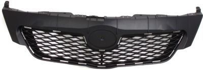 Evan-Fischer EVA17772047775 Grille Assembly Grill Plastic shell and insert Black (Toyota Corolla Grill 2009 compare prices)