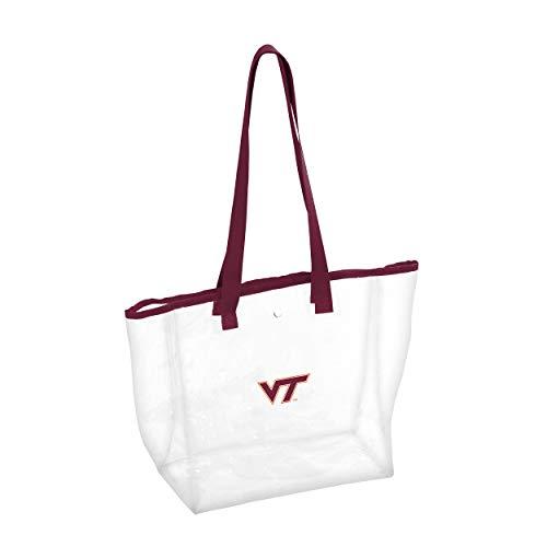 (Logo Brands NCAA Virginia Tech Stadium Clear Bag, Multi, One Size)