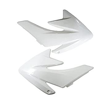ZXTDR Plastic Fairing Kit Fender Parts and Seat for CRF70 CRF 70 Dirt Pit Bike 4Black+3White