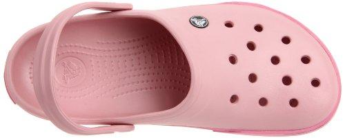Crocs Crocband II, Zoccoli e sabot,Uomo (Petal Pink/Pink Lemonade)