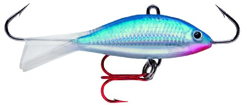 Rap Jigging Rapala Shad - Rapala Jigging Shad Rap 05 Fishing lure, 2-Inch, Blue
