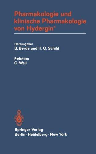 Pharmakologie und klinische Pharmakologie von Hydergin® (German Edition)