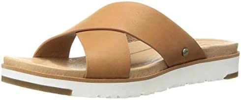 UGG Women's Kari Flat Sandal, NAT, 5 M US: .au