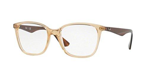 Ray-Ban RX7066-5770 Eyeglasses TRANSPARENT BEIGE 52mm (Rayban Goggle)