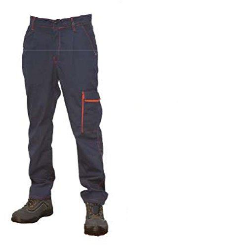 Pratico Industria Tasche Calzoni Arancione Fratelliditalia Officina Uomo Pantaloni Meccanico Lavoro pU8wT