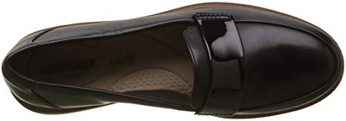 Arlie Mocassins Raisie Noir Femme loafers Clarks black zCqw75Wx