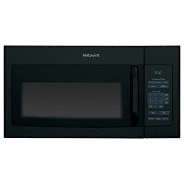 Hotpoint 1.6 cu. ft. Over the Range Microwave in Black (RVM5160DHBB)