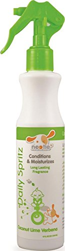 Nootie-Daily Spritz, Pet Conditioning Spray, 1 Unit, 8 oz, Coconut Lime Verbena